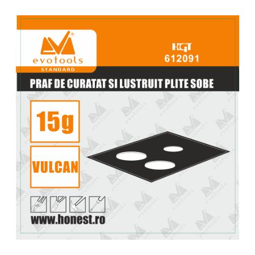 Praf De Curatat Si Lustruit Plite Sobe Vulcan 15 G Ets 612091 Honest