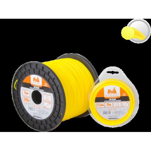 Fir Nylon Pentru Motocoasa Rotund 2.4mm*15m Ets 654090 Honest