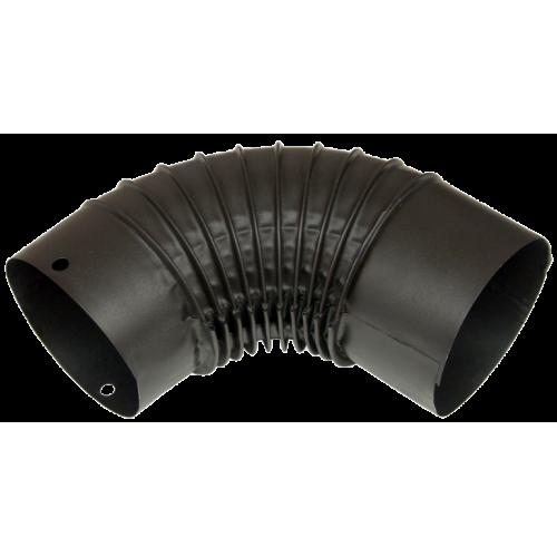 Cot Soba Din Tabla Emailat Negru Mat 120mm Ets 651810 Honest