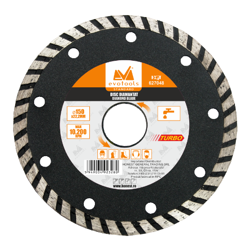 Disc Diamantat Continuu Universal 180mm Ets 627049 Honest