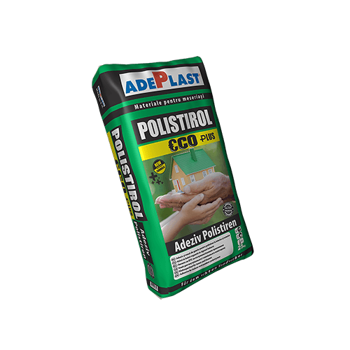 Adeziv Pentru Polistiren Polistirol Eco Plus New Formula 25 Kg Adeplast