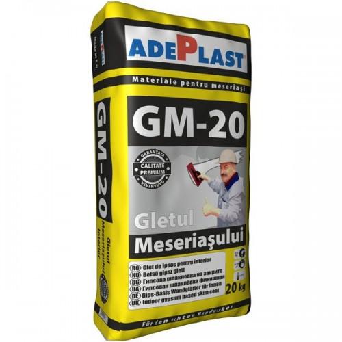 Glet Fin Gletul Meseriasului Gm-20 20kg Adeplast