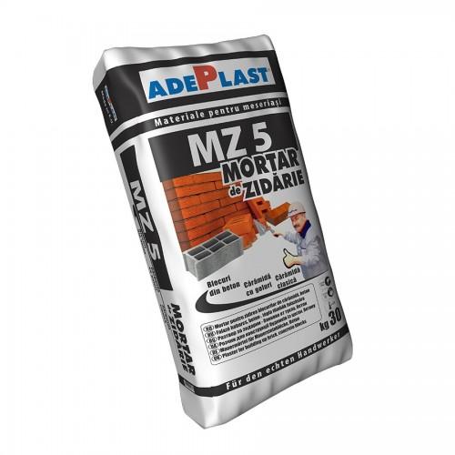 Adeziv Pentru Zidarie Caramida Si Boltari Mz5 30 Kg Adeplast