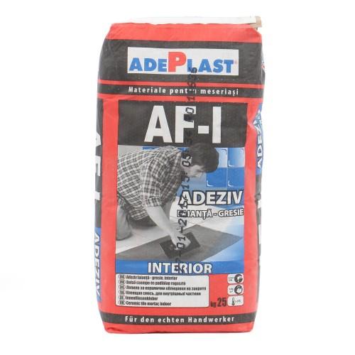 Adeziv Gresie Si Faianta Interior Af-i 25kg Adeplast