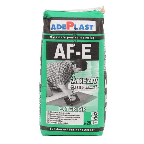 Adeziv Gresie Si Faianta Exterior Af-e 25kg Adeplast