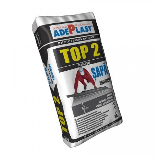 Sapa De Egalizare Pe Baza De Ciment Top 2 30 Kg Adeplast