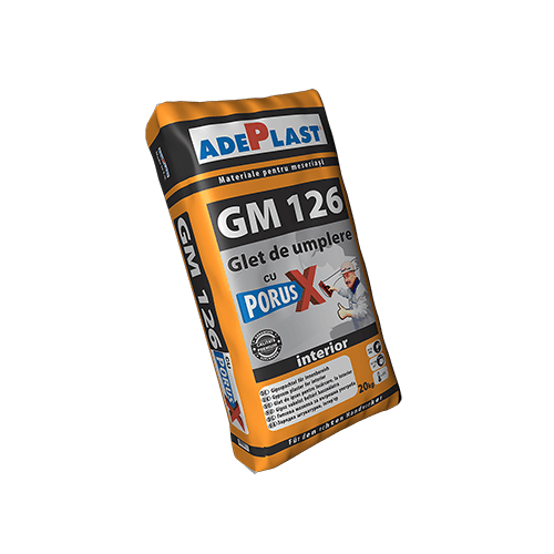 Glet Fin Gm 126 20kg Adeplast