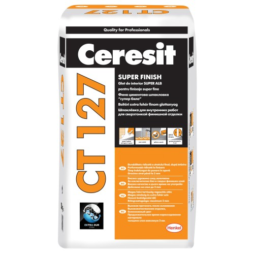 Glet Super Fin Ct 127 20kg Ceresit