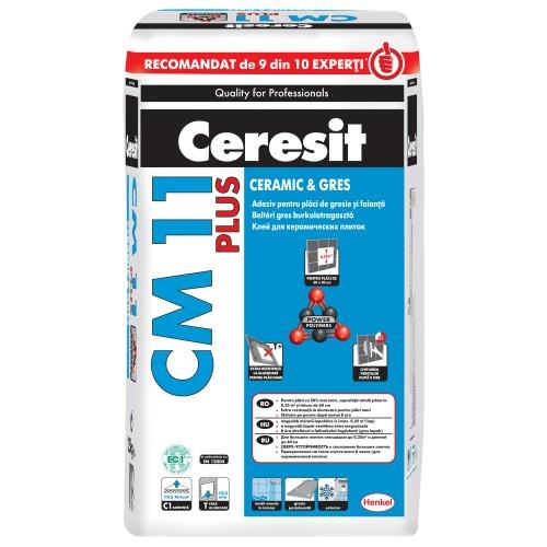Adeziv Gresie Si Faianta Int Ext Cm11 Plus 5kg Ceresit