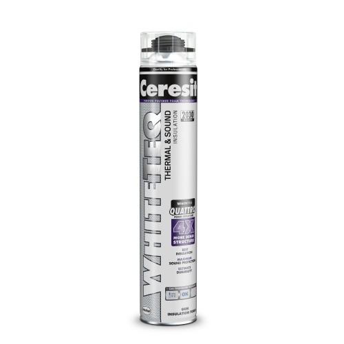 Spuma Poliuretanica De Vara Pentru Constructii 750ml Manuala White Teq Premium Ceresit Henkel