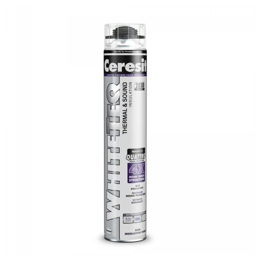 Spuma Poliuretanica De Vara Pentru Constructii 750ml Pistol White Teq Premium Ceresit Henkel