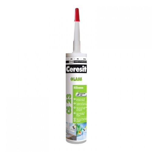 Silicon Ceresit Sticla Transparent 300ml Cs23 Hr032 Henkel