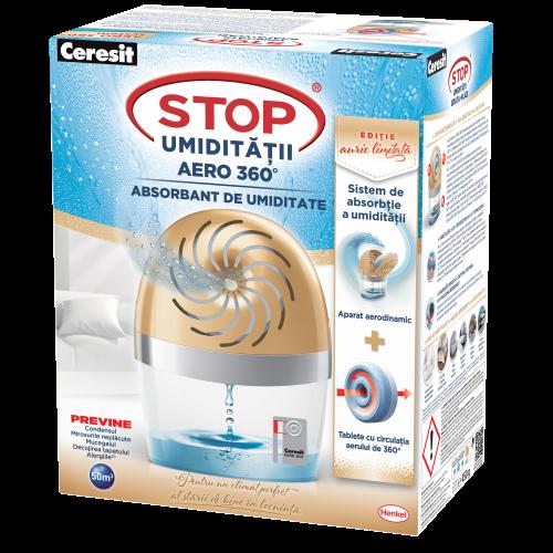 Aparat Absorbant De Umiditate 450g Aero Gold/humidity Absorber Alb Ceresit Henkel