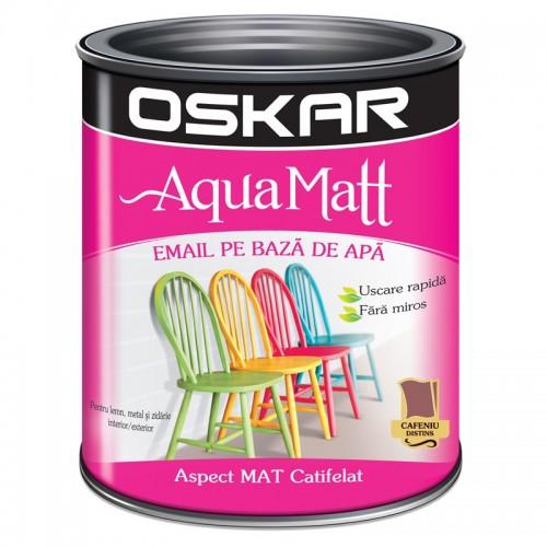 Acrilic Email Matt Aqua Cafeniu Distins 0.6 L Oskar