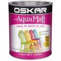 Acrilic Email Matt Aqua Ocru Unicat 0.6 L Oskar