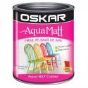 Acrilic Email Matt Aqua Rosu Pasional 0.6 L Oskar