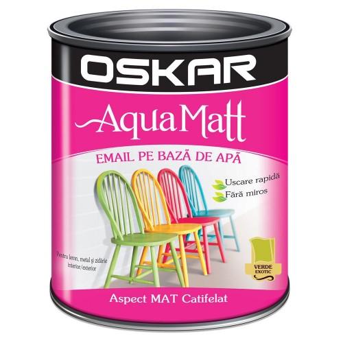 Acrilic Email Matt Aqua Verde Exotic 0.6 L Oskar