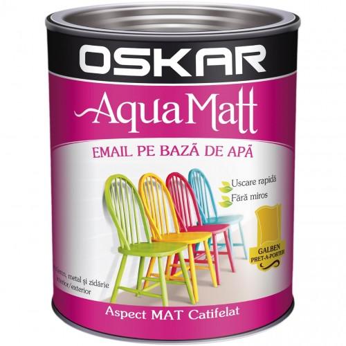 Acrilic Email Matt Aqua Galben Pret-a-porte 2.5 L Oskar