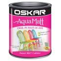 Acrilic Email Matt Aqua Gri Creativ 2.5 L Oskar
