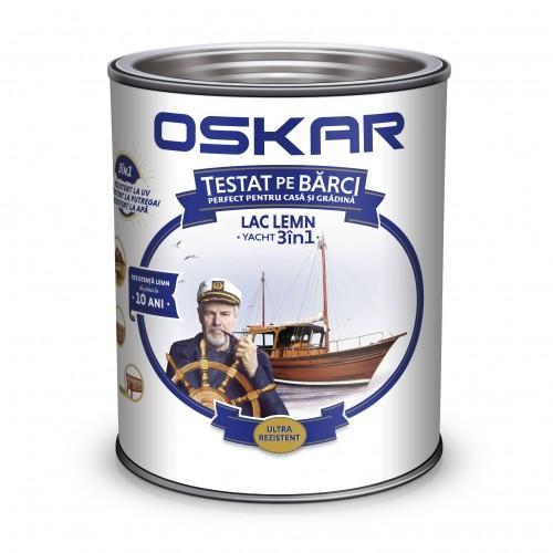 Lac 0.75l Lemn Yacht 3 In 1 Incolor Oskar