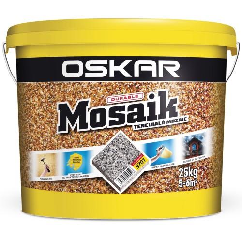Tencuiala Decorativa Mosaik 9701 25 Kg Oskar