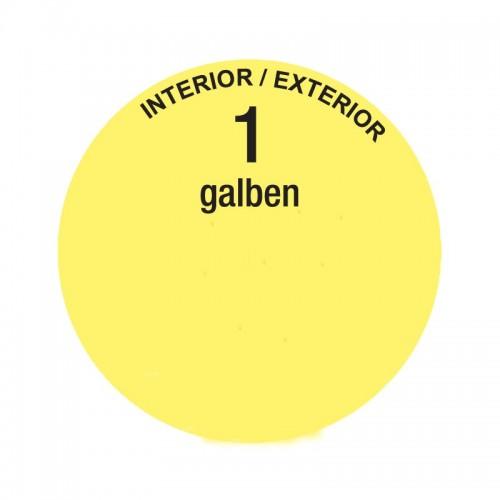 Colorant Lavabila 30ml 1 Galben Interior Oskar