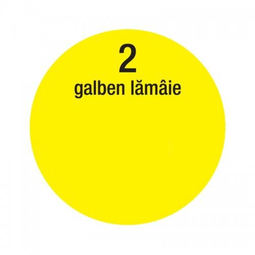Colorant Lavabila 30ml 2 Galben Lamaie Interior Oskar