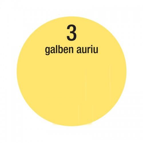 Colorant Lavabila 30ml 3 Galben Auriu Interior Oskar