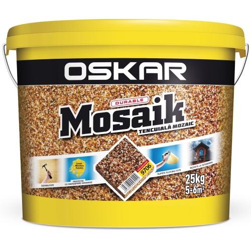 Tencuiala Decorativa Mosaik 9706 25 Kg Oskar