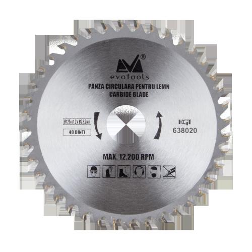Panza Circulara Vidia 125mm*1.2mm G22.23 Ets 638020 Honest