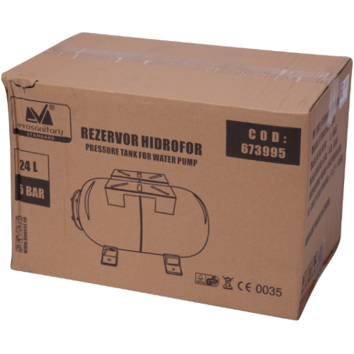 Rezervor Hidrofor Orizontal 19l 5bar 673994 Honest