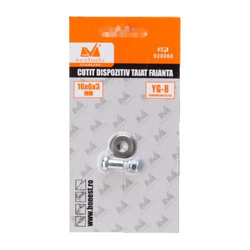 cutit Dispozitiv Taiat Faianta 16mm*6mm*2mm Set 2buc 628022 Honest
