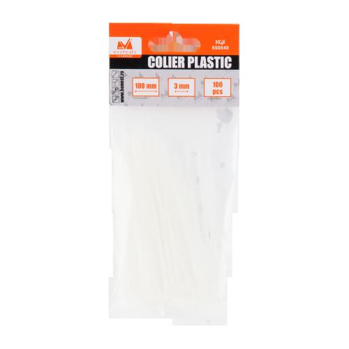 Coliere De Plastic 5*400 Mm 100 Buc Ets 650047 Honest