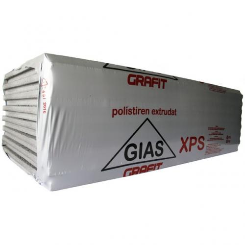 Polistiren Extrudat 5 Cm (5.8 Mp/bax - 8 Placi) Gias Xps