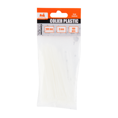 Coliere De Plastic 4*150 Mm 100 Ets 650042 Honest