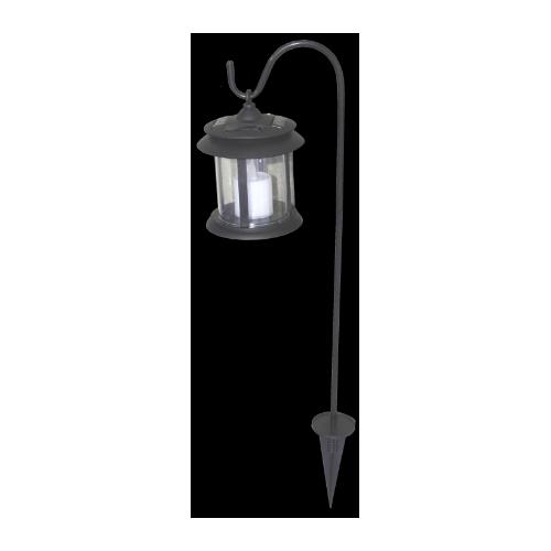 lampa De Gradna Tip Felinar Cu Acumulator Solar Ets 647511 Honest