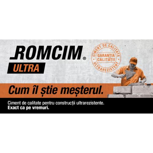 Ciment Romcim Ultra 40 Kg Crh