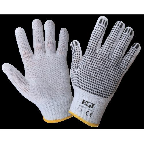 Manusi Textil Cu Picouri Pvc In Palma Etp 645048 Honest